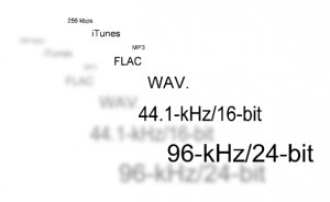 high res audio formats
