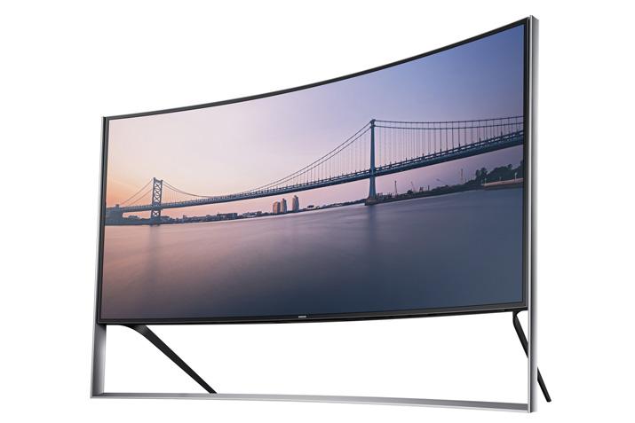 "Samsung-UN105S9W105""Curved-UHD-TV"