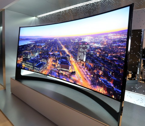 4K 105 inch CURVED UHD